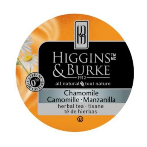 Higgins & Burke Specialty Tea Chamomile Mint, RealCup portion pack for Keurig K-Cup Brewers, 24 Count (3029038)