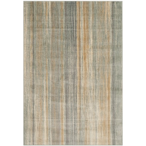 Safavieh Vintage Light Blue Abstract Distressed Silky Viscose Rug (6' 7 x 9' 2)