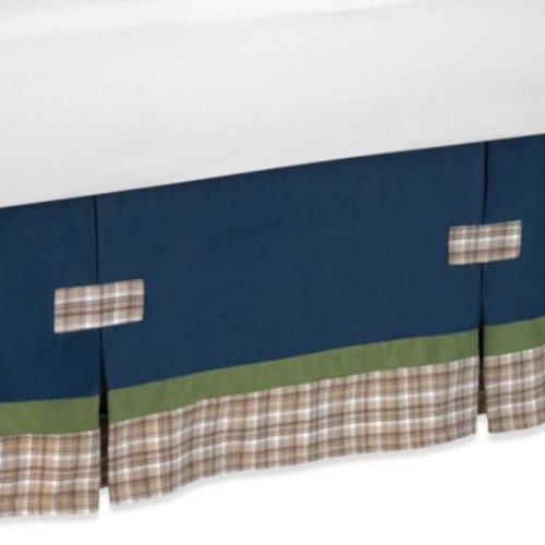 Sweet Jojo Designs Construction Zone Queen Bed Skirt