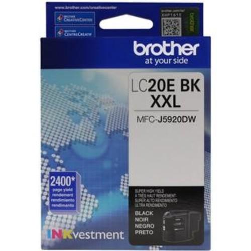 Brother LC-20EBK INKvestment Super High Yield (XXL Series) Black Ink Cartridge