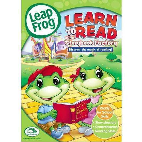 LeapFrog: Learn to Read at the Storybook Factory [DVD] [2005]
