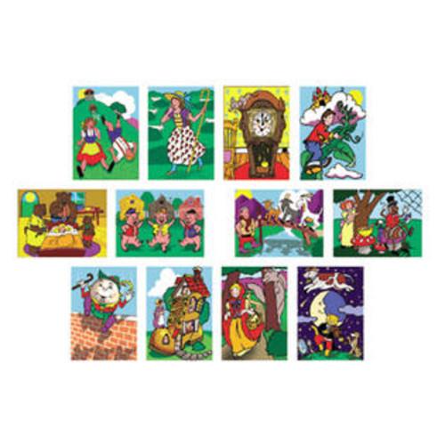 Melissa & Doug Melissa and Doug Fairy Tales and Nursery Rhymes 12-Puzzle Set