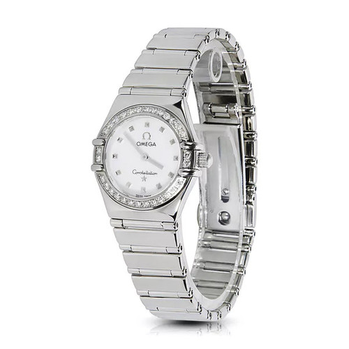 Pre-Owned Omega Women's Constellation 1465.71 Watch in Stainless Steel and Diamonds