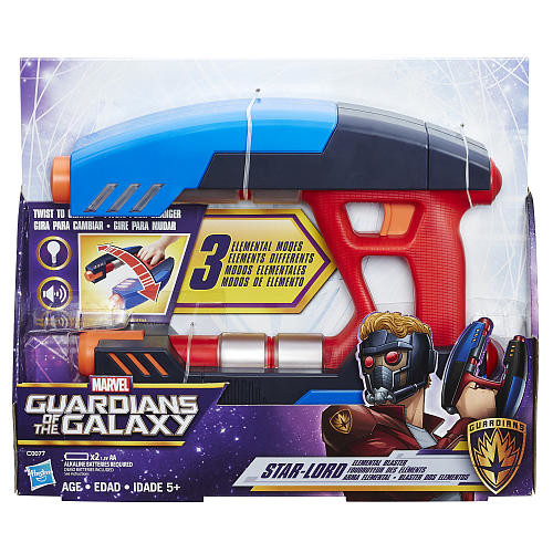 Marvel Guardians of the Galaxy Hero Play - Star-Lord Elemental Blaster