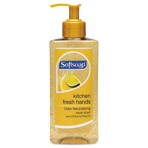 Softsoap Kitchen Fresh Hands Soap, Citrus Scent, 10 oz Pump Bottle, 6/Carton | PJP Marketplace