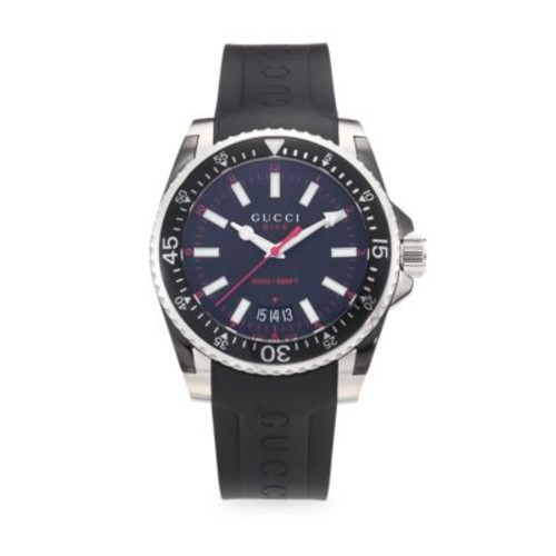 Gucci - Dive Rubber & Stainless Steel Watch