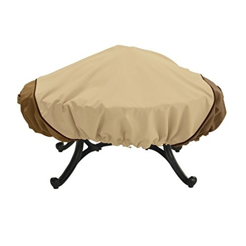 Classic Accessories Veranda Fire Pit Cover Round