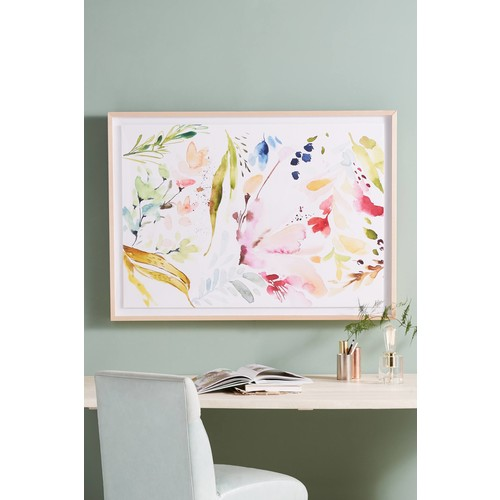 Watercolor Petals Wall Art [REGULAR]