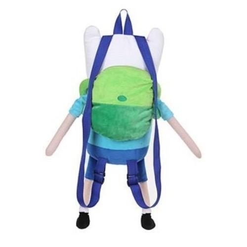 Adventure Time Finn Plush Backpack: Toys & Games