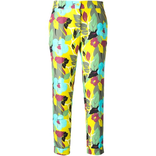 ETRO Flower Print Tailored Trousers