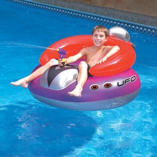 Blue Wave UFO Spaceship Inflatable Pool Toy