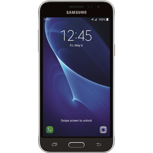 AT&T Prepaid - Samsung Galaxy Express Prime 2 4G LTE with 16GB Memory Prepaid Cell Phone - Black