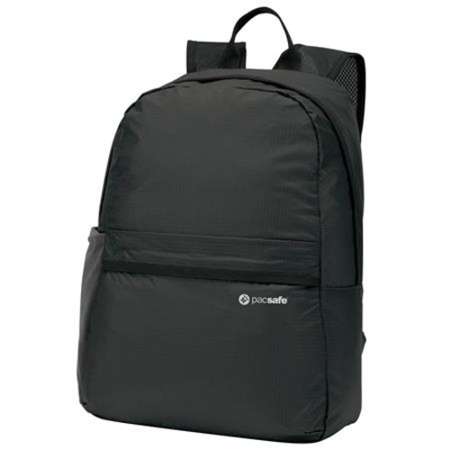 Pacsafe Pouchsafe PX15 Anti-theft Packable Day Pack, Black/Charcoal 10900104