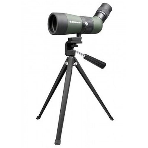 Celestron - Landscout 10-30x 50mm Spotting Scope - Green/Gray