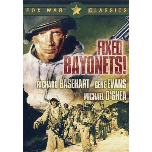 Fixed Bayonets! [DVD] [1951]
