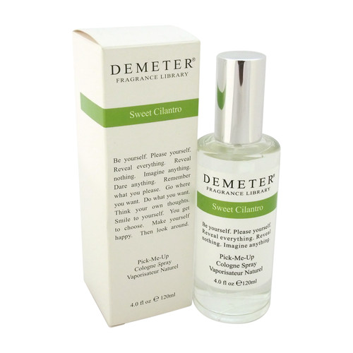 Sweet Cilantro by Demeter for Women - 4 oz Cologne Spray