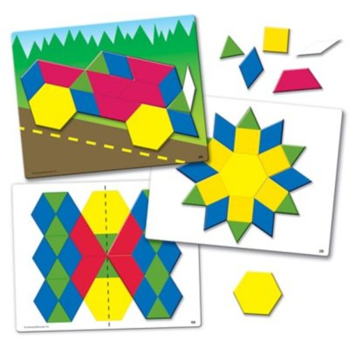 Learning Resources Mag Pattern Block Set