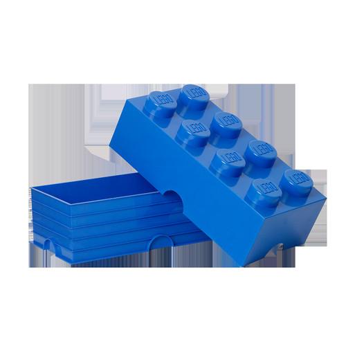 LEGO 8-Stud Storage Brick - Bright Blue