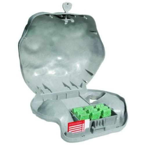 JT Eaton Rodent Landscape Granite Rock Bait Station with Solid Lid for Mice and Rats (4-Pack)