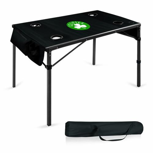 Picnic Time Boston Celtics Black Polyester Travel Table