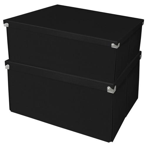 Samsill Pop n' Store Mega Box (Set of 2) [option : Black]