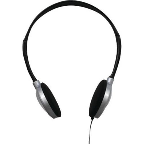 Maxell HP-200 Stereo Lightweight On-Ear Headphone, Black/Gray (190318 )