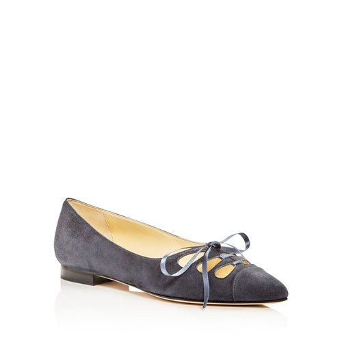SARAH FLINT Trish Pointed Toe Ballet Flats