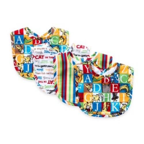 Trend Lab 4-pack Dr. Seuss Alphabet Bouquet Bib Set