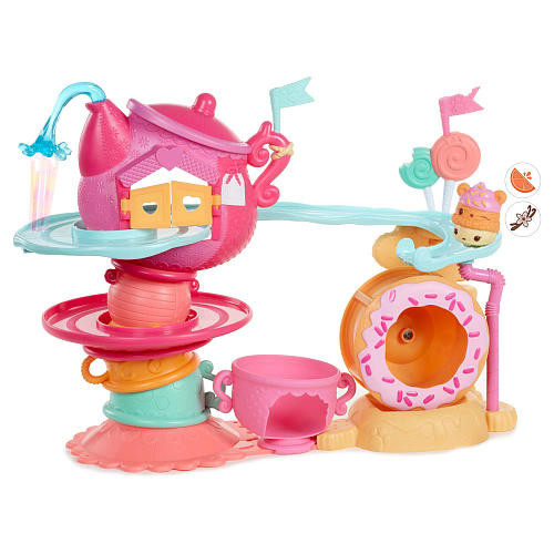 Num Noms(TM) Go-Go Cafe Playset with Scented Characters