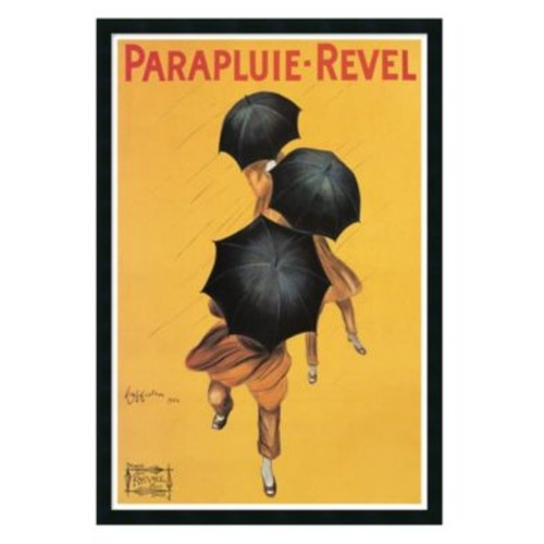 'Parapluie Revel' Framed Art by Leonetto Cappiello