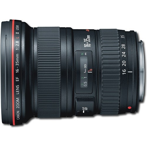 Canon EF 16-35mm f/2.8L ll USM Zoom Lens for Canon EF Cameras [Bulk Packaging]