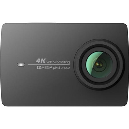 YI 4K Action Camera with Selfie Stick & Bluetooth Remote, Black