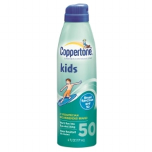 Coppertone Kids Sunscreen Continuous Spray, SPF 50