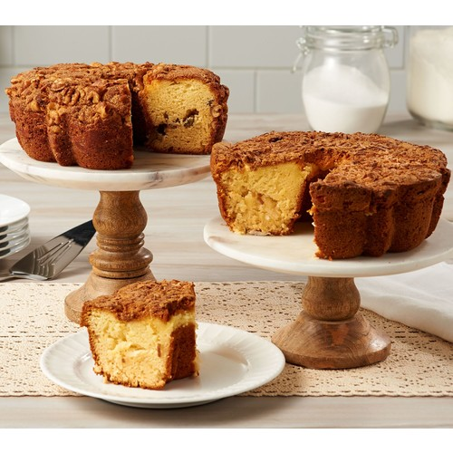 My Grandma's (2) 28 oz. Lemon Coconut \u0026 Cinnamon Walnut Coffee Cakes