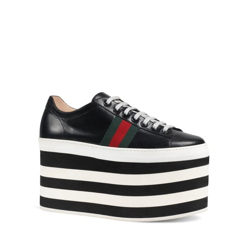 GUCCI Peggy Platform Sneakers