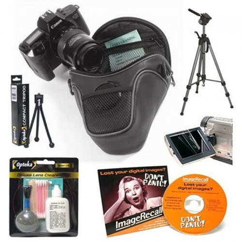 Opteka Essential Accessory Kit for Canon EOS SLR Digital Cameras