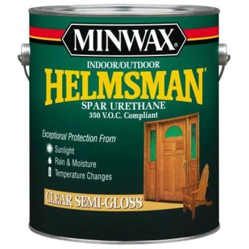 Minwax 1 gal. Clear Semi-Gloss Helmsman Indoor/Outdoor Spar Urethane (2-Pack)
