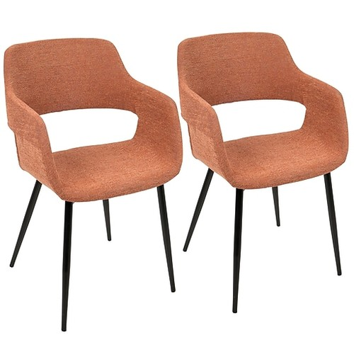 Margarite Mid Century Modern Dining, Accent Chair - LumiSource