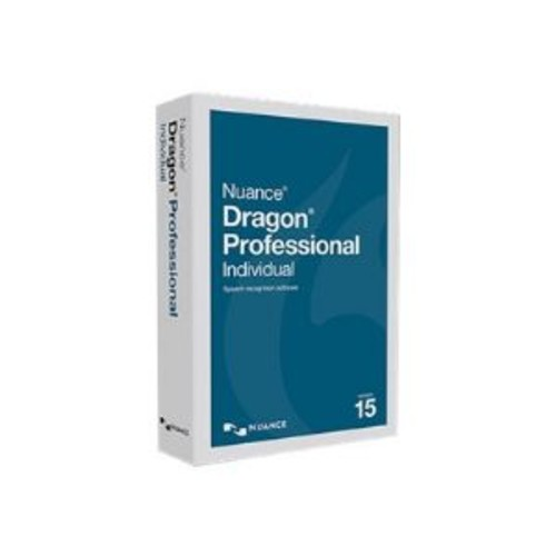 Dragon Professional Individual - (v. 15) - box pack (upgrade) - 1 user - upgrade from Dragon NaturallySpeaking Premium 12/13 - academic - Win - US English