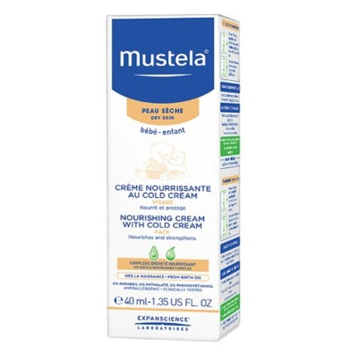 Mustela Nourishing Baby Cream with Cold Cream - 1.35 Ounce