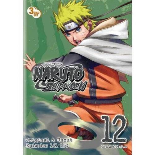 Naruto Shippuden Box Set 12 (DVD) [Naruto Shippuden Box Set 12 DVD]