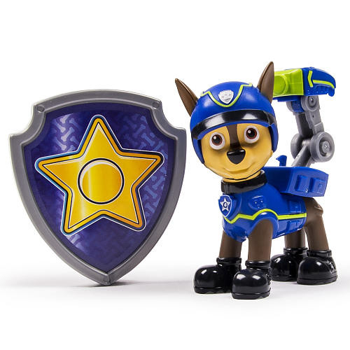 Nickelodeon Paw Patrol - Action Pack Pup & Badge - Chase Spy