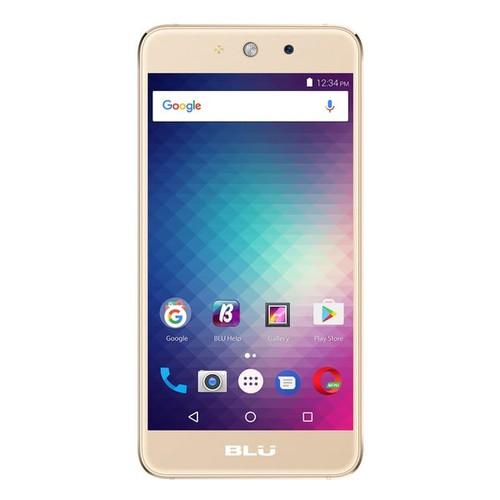 BLU Grand M G070Q Unlocked GSM Quad-Core Dual-SIM Phone - Gold (Certified Refurbished)