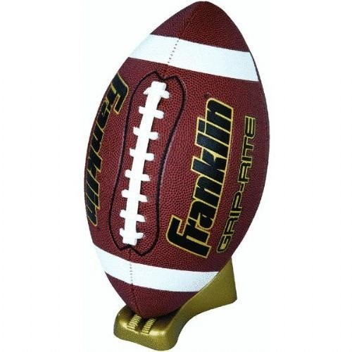 Franklin Sports Grip-Rite Gold Pump and Tee Football Set [Official]