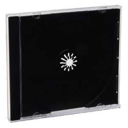 Verbatim CD and DVD Black Jewel Storage Case 200 Pack 94867