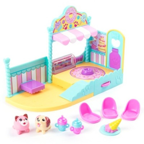 Chubby Puppies & Friends Sweet Treat Shop Playset