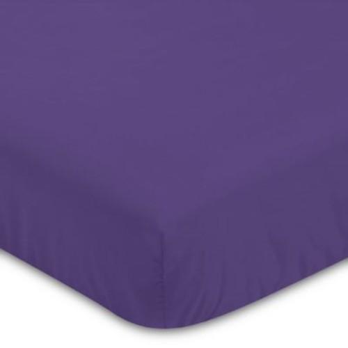 Jojo Designs Sloane Fitted Crib Sheet in Purple