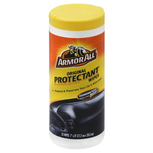 Armor All Protectant Wipes, Original 25 wipes