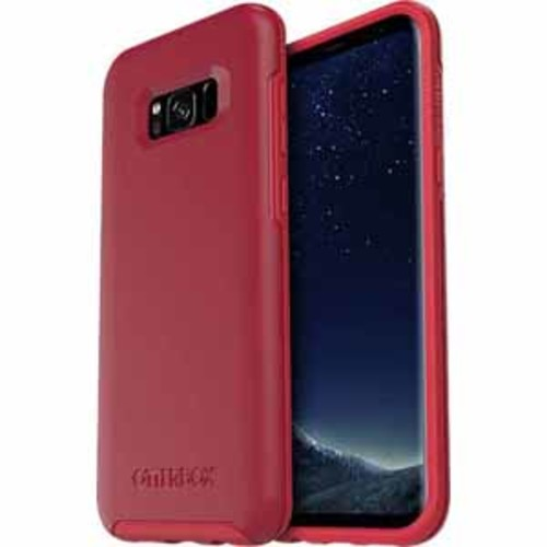 Otterbox Symmetry Clear Confidence Case for Samsung Galaxy S8 Plus - Rosso Corsa