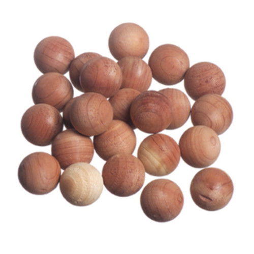 International Innovations Laundry Accessories Red Cedar Wood Balls (24 Pack) - N/A